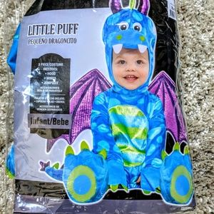 Puff Dragon Halloween Costume 3-6 month baby